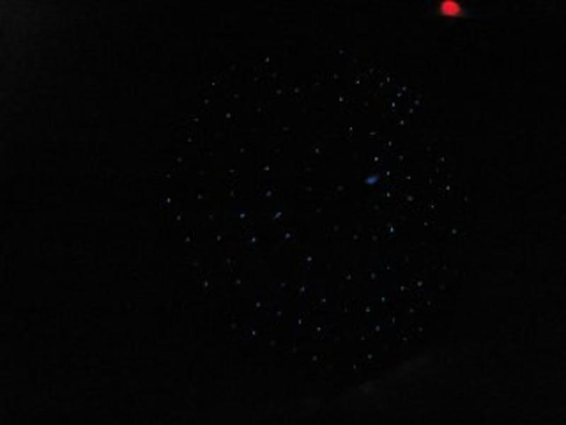 Paraplu met ledverlichting sterrenhemel - Atelier Michel Koene