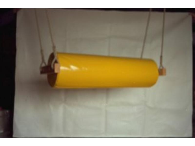 Atelier Michel Koene Cilinderschommel, Bisonyl    30 x 120cm