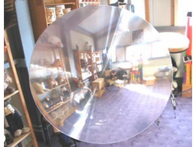 Fish eye lens- doorzichtig    25cm