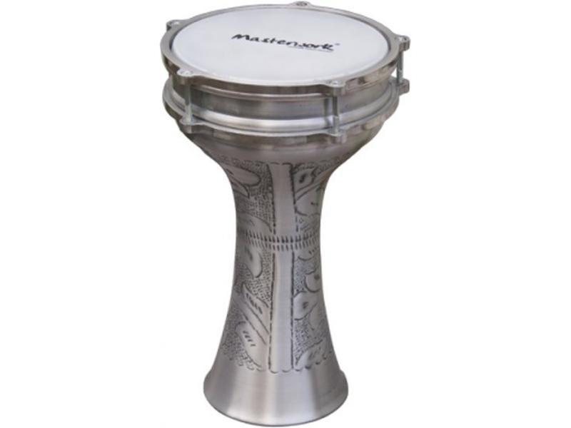 Darbuka aluminium   20,5 en 37cm hoog