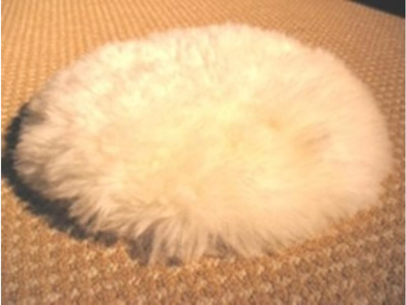 Senso-Care Alpaca tastkussen- rond, excl. gewichten - 35cm