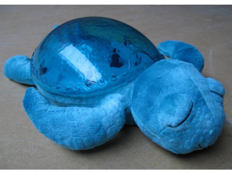 Schildpad met watereffect en geluid   25 x 17,5 x 7,5cm