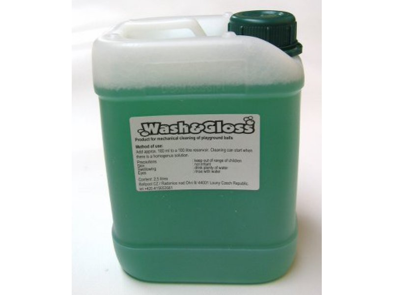 Wash en Gloss wasvloeistof ballenwasmachine   2,5 liter