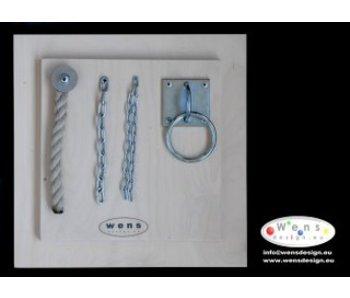 WensDesign Voelplaat ketting-touw-ring