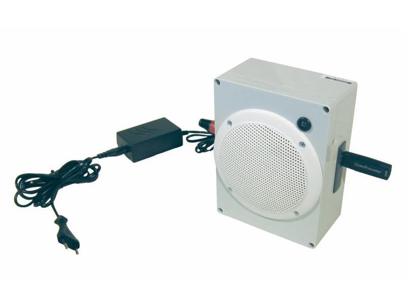 Artron MP3 speler met Bewegingsmelder