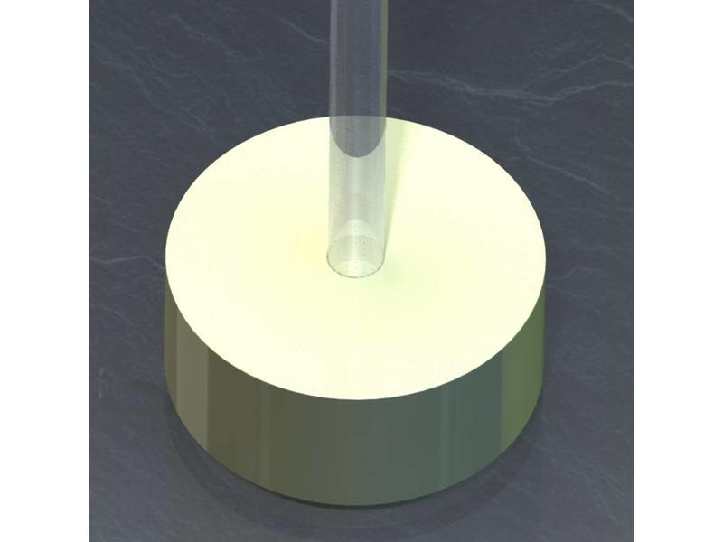 Atelier Michel Koene Eiland t.b.v. Bubble Unit rond, Bisonyl    100 x 50cm