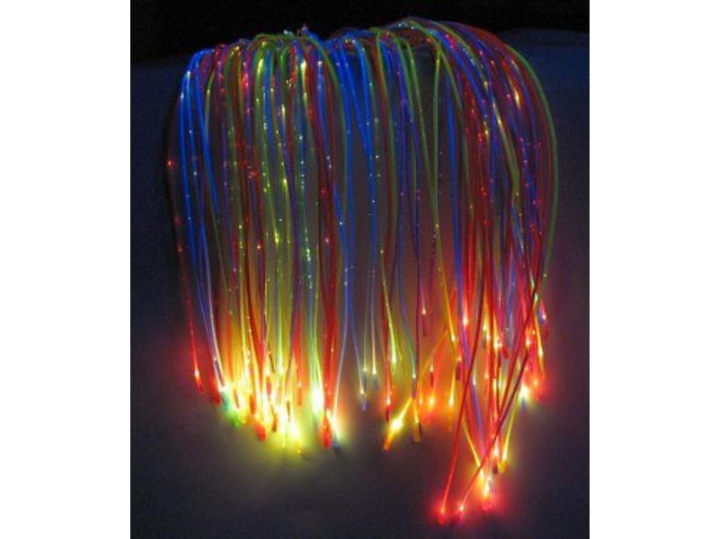 Vezelnevel Sparkleflex UV incl lichtbron   100st,  200cm