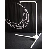 Atelier Michel Koene Hangstoelstatief verzinkt in hoogte verstelbaar   voet 200x160cm