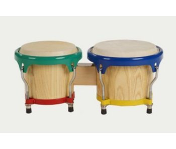 Gekleurde bongo