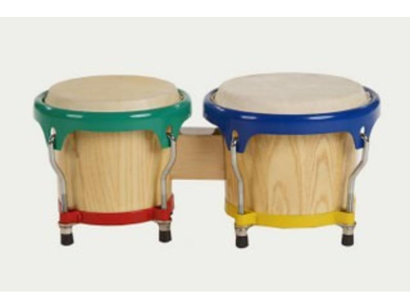 "Goldon Gekleurde bongo   6,5"" en 7,5"""