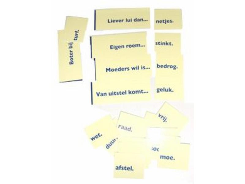 Edu Books & Training Boter Bij De Vis- Taaldomino Laatste exemplaren
