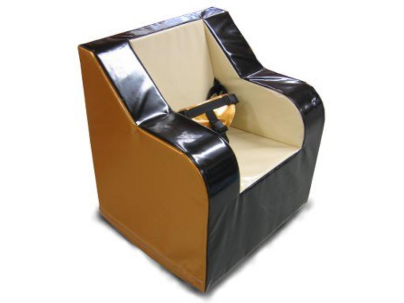 Atelier Michel Koene Schommelstoel Premier laag, Bisonyl   80 x 70 x 85cm