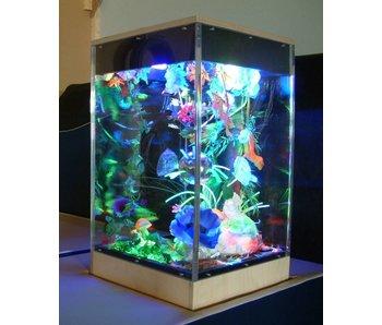 Blacklightkast aquarium doorzichtig vol acrylaat