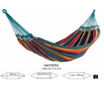 Hangmat Sambito multicolor geen zijkant