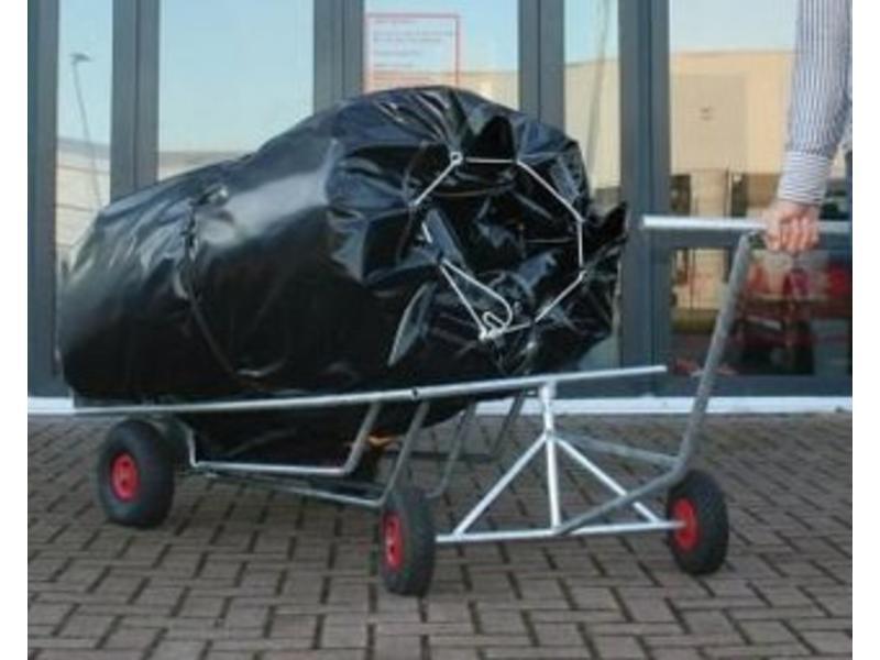 Transportwagen voor luchtkussens   150x80x40cm