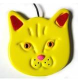 Animal Switch Kitty-  schakelaar   14x13x1.5cm