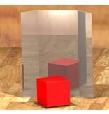 Atelier Michel Koene Spiegeldrieluik acrylaat   1x 175x80, 2x 175x40cm