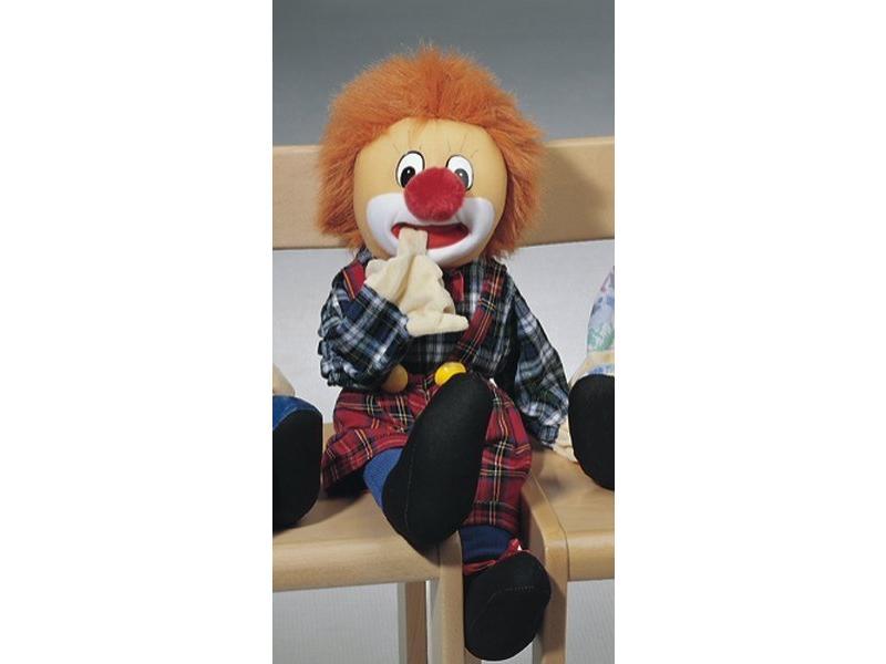 Communicatiepop clown   60cm