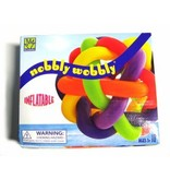 Nobbly Wobbly- opblaasbaar klein    25cm