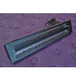 Blacklight TL in veiligheidsarmatuur   60cm, 18W