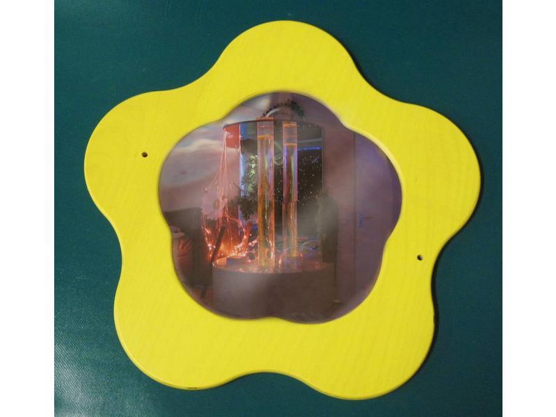 Tastbloem met spiegel   ñ 37cm