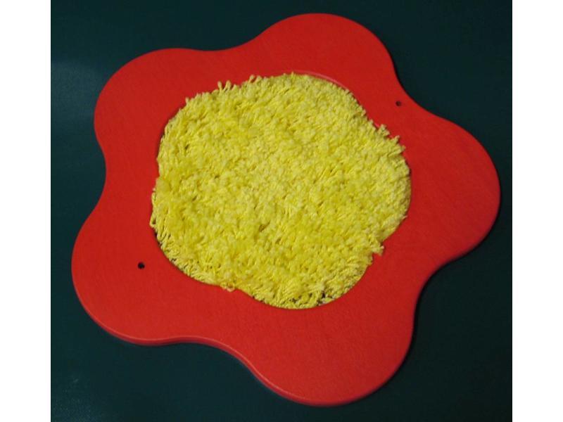 Tastbloem met tapijt   ñ 37cm