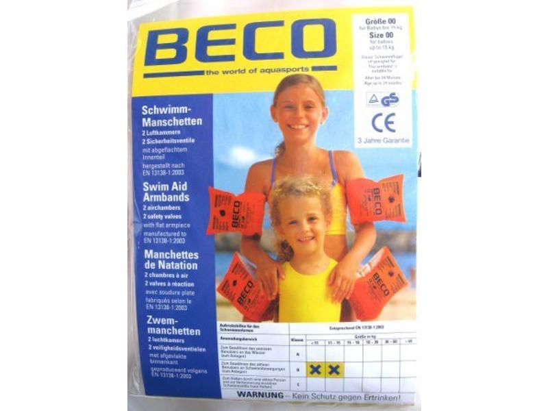 Beco zwemarmband opblaasbaar Nr 00 baby   0-11 kg