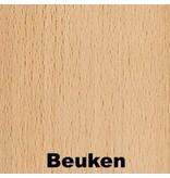 Atelier Michel Koene Meerprijs tafelblad HPL- dessin beuken of berken   t/m 160x120cm