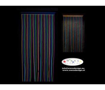 WensDesign Fluoline vliegengordijn 230cm
