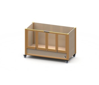 Bed Ûle Kompakt met hoog/laag bodem