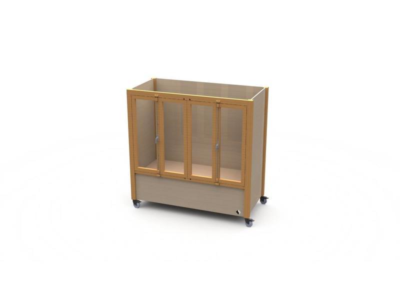 Atelier Michel Koene Bed Ûle met hoog/laag bodem (maatwerk)