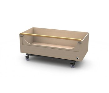 Hoog/laag bed(box) Reager - Carrier