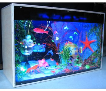 Blacklightkast Aquarium