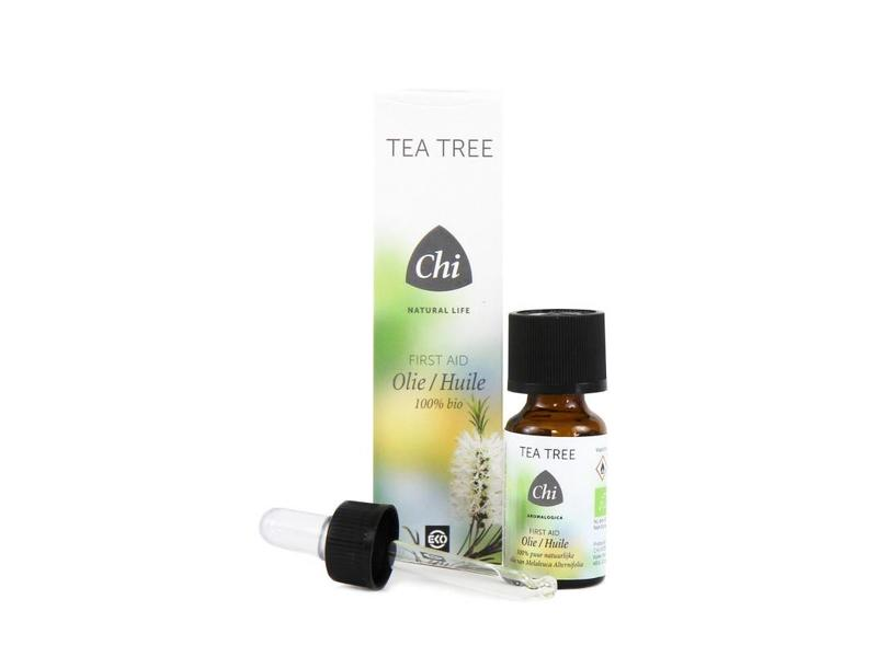 Chi Natural Life Chi Tea Tree - Eerste hulp olie, Eko  20ml