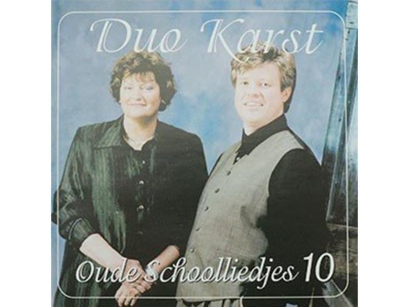 CD- Duo Karst - Oude Schoolliedjes 10
