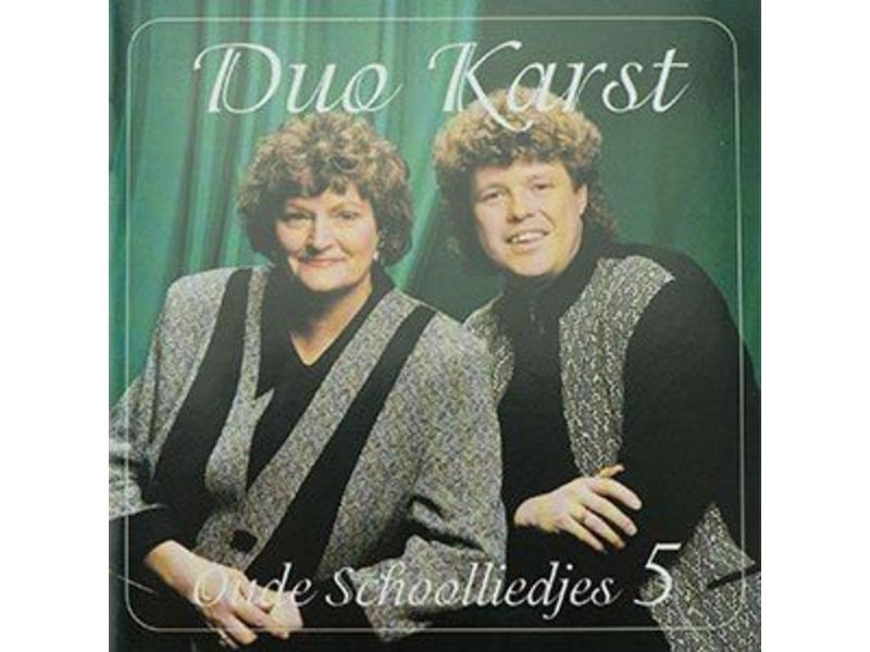 CD- Duo Karst - Oude Schoolliedjes 5