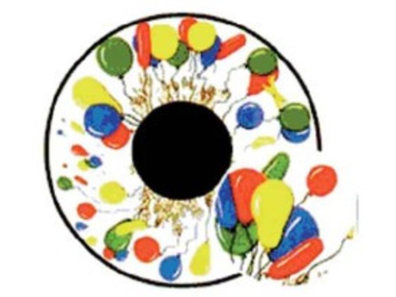 OPTIkinetics Effectwiel beeld FG7002 Balloons