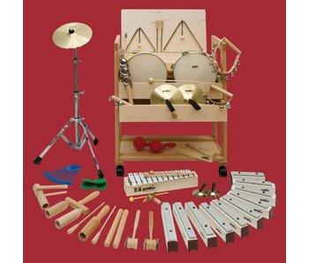 Muziekwagen 1 (incl. 24 percussie instrumenten)