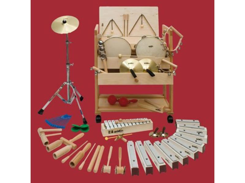 Goldon Muziekwagen 1 (incl. 24 percussie instrumenten)