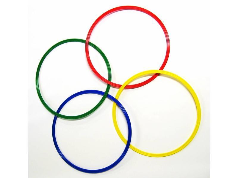 Gymnastiek ringen set 20st (4 kleuren, 5 maten)