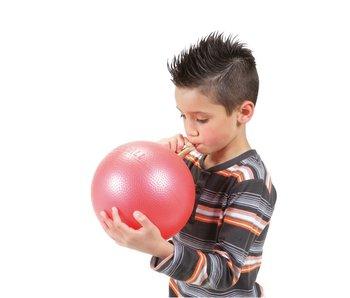Gymnic Overball- opblaasbaar - rood