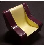 Atelier Michel Koene stoel Golf klein,verrijdbaar,  Bisonyl DEMO