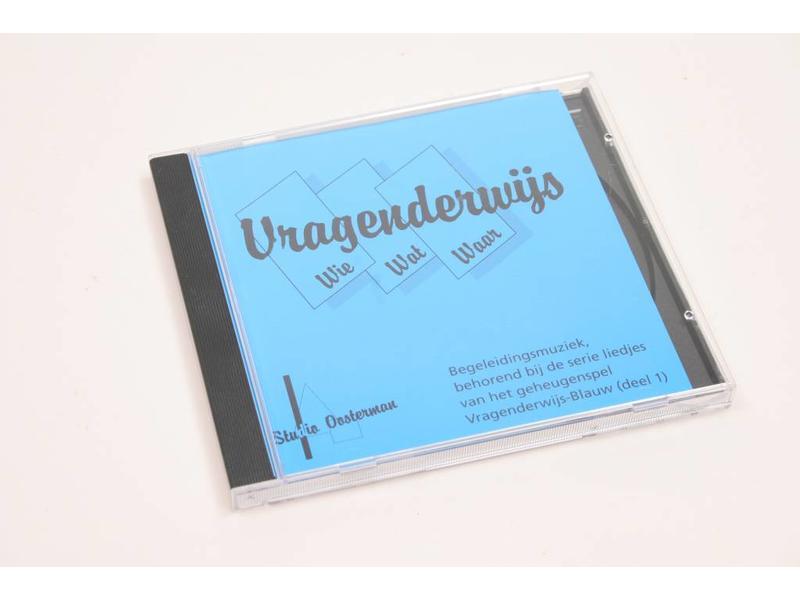 CD met liedjes voor Vragenderwijs blauw deel 1