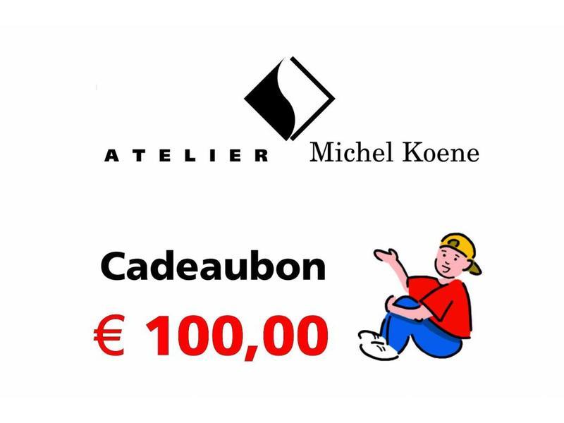 Atelier Michel Koene Cadeaubon Ø'¬ 100,00