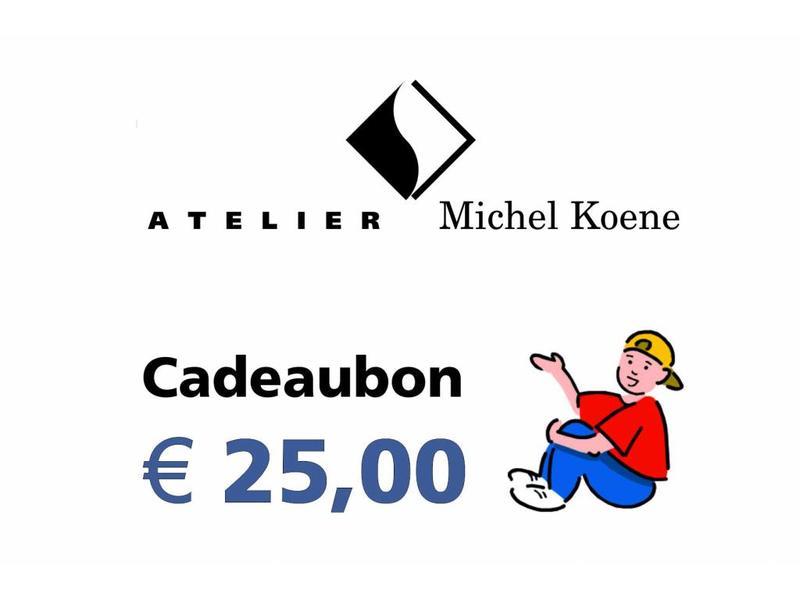 Atelier Michel Koene Cadeaubon Ø'¬ 25,00