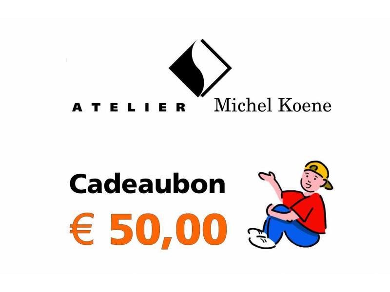 Atelier Michel Koene Cadeaubon Ø'¬ 50,00
