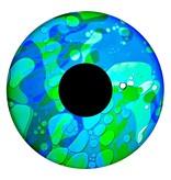 """OPTIkinetics 6"""" Effectwiel vloeistof voor Solar 100-250   groen/blauw"""