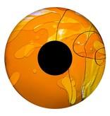 """OPTIkinetics 6"""" Effectwiel vloeistof voor Solar 100-250   geel/oranje"""