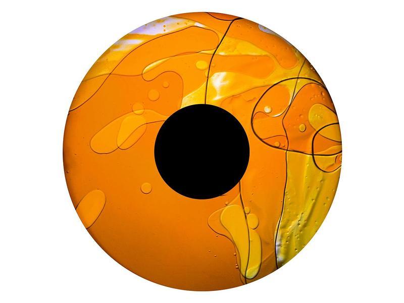 """OPTIkinetics 6"""" Effectwiel vloeistof   geel/oranje"""