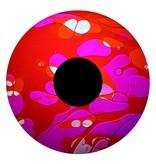 """OPTIkinetics 6"""" Effectwiel vloeistof voor Solar 100-250   roze/rood"""